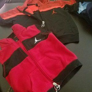 2 for 1 Jordan jacket and vest 18mo